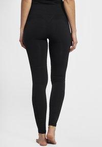 Hummel - HMLCLEA - Legging - black melange - 2