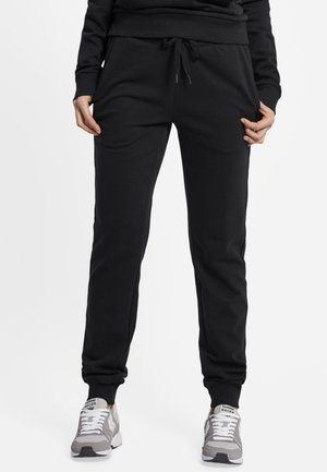 HMLMADELYN - Tracksuit bottoms - black