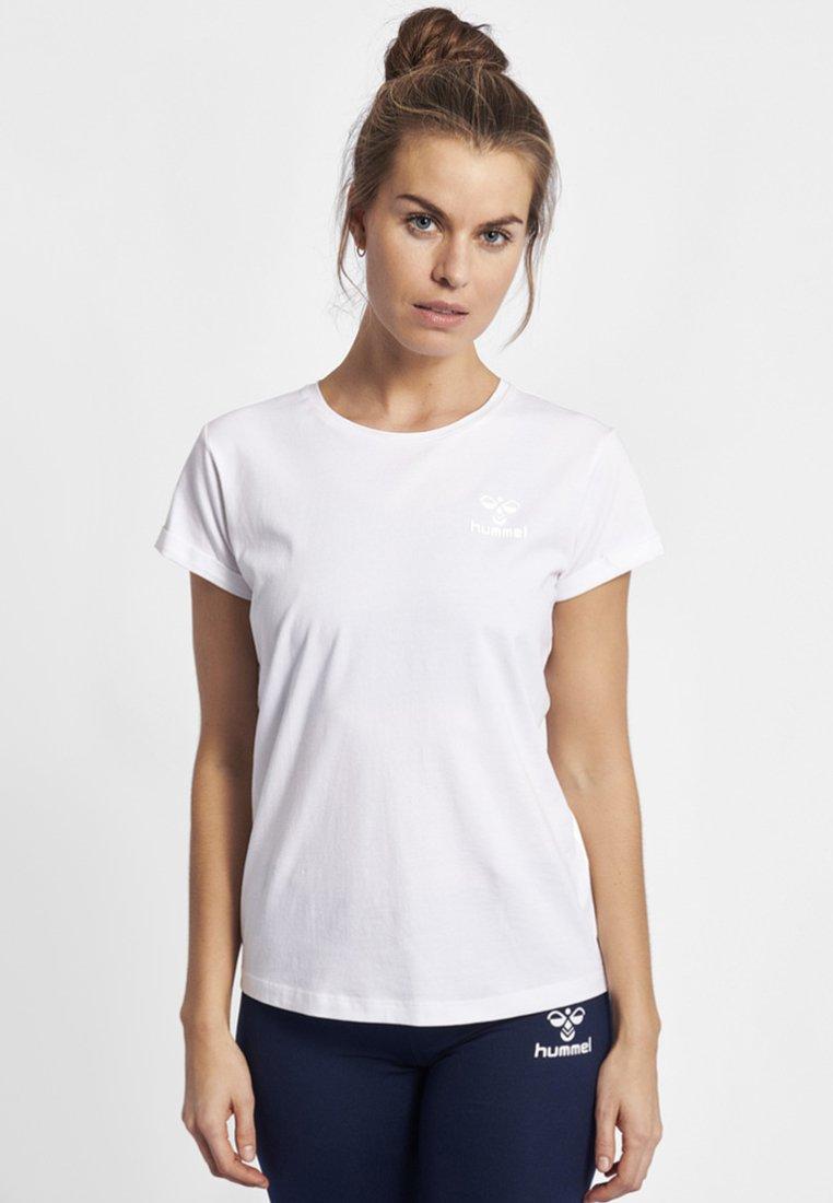 Hummel - HMLISOBELLA  - Basic T-shirt - white