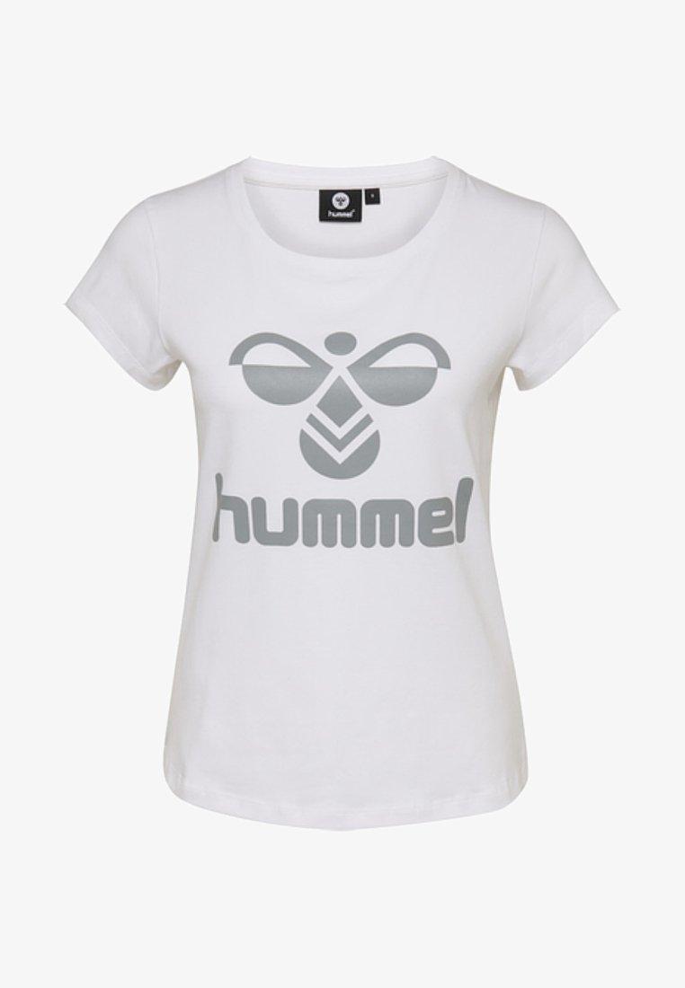 Hummel - HMLJANE - T-shirts print - white