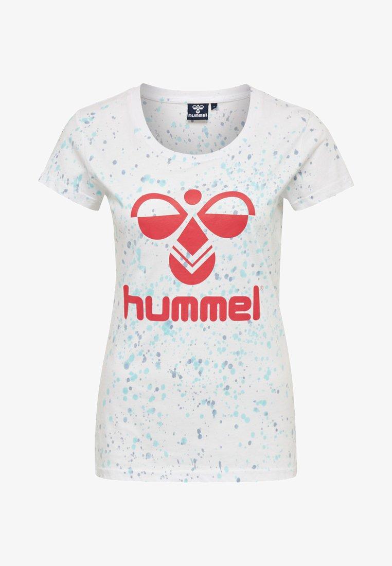 Hummel - T-Shirt print - white/rittal