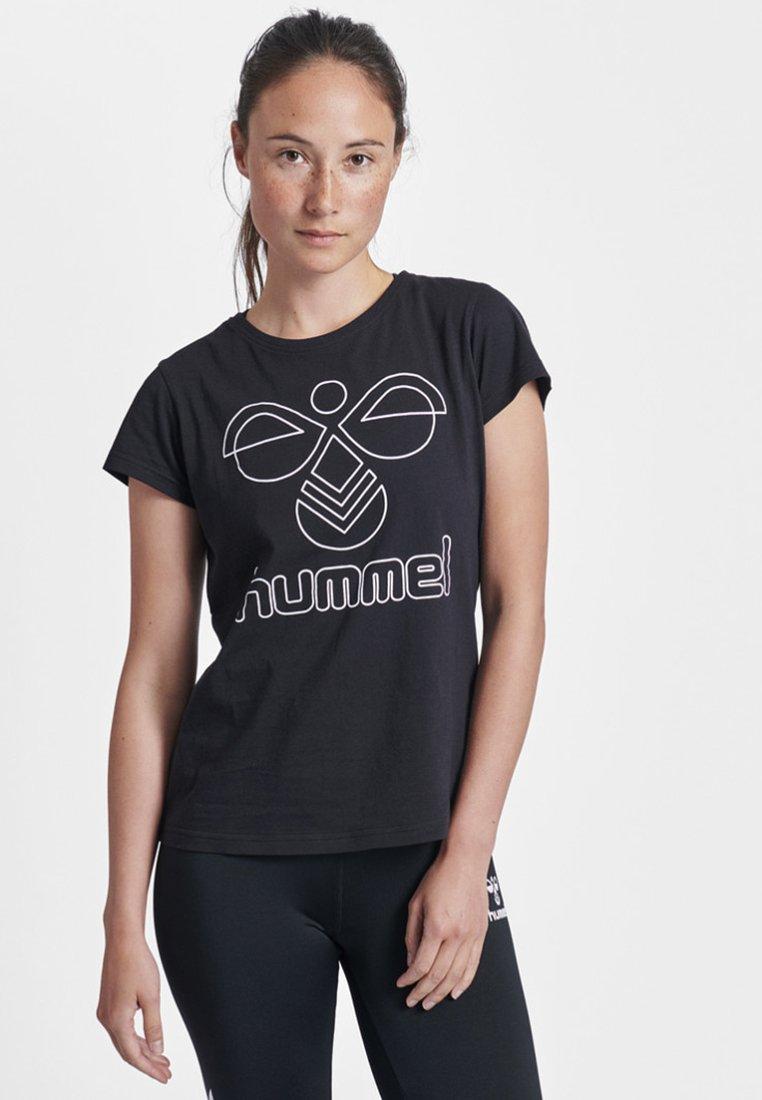 Hummel - HMLROSE - T-Shirt print - black
