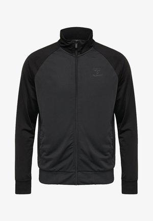 CONAX - Training jacket - black/blue aster
