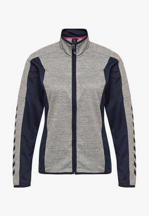 HMLSIRI POLY  - Training jacket - grey melange