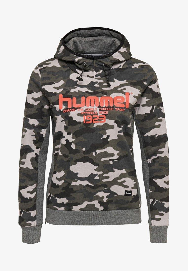 Hummel - HMLMALIA - Kapuzenpullover - camouflage