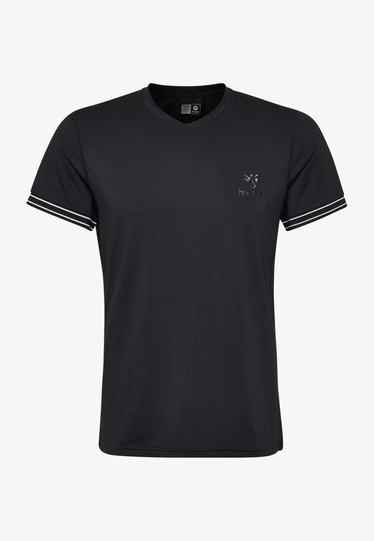 Hummel - HMLWYATT T - T-Shirt print - black