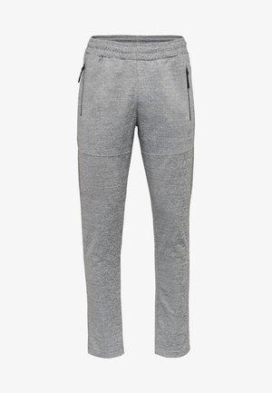 HMLSTEN  - Træningsbukser - grey melange