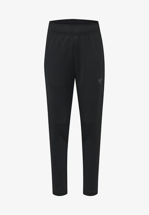 HMLBIRK  - Tracksuit bottoms - black