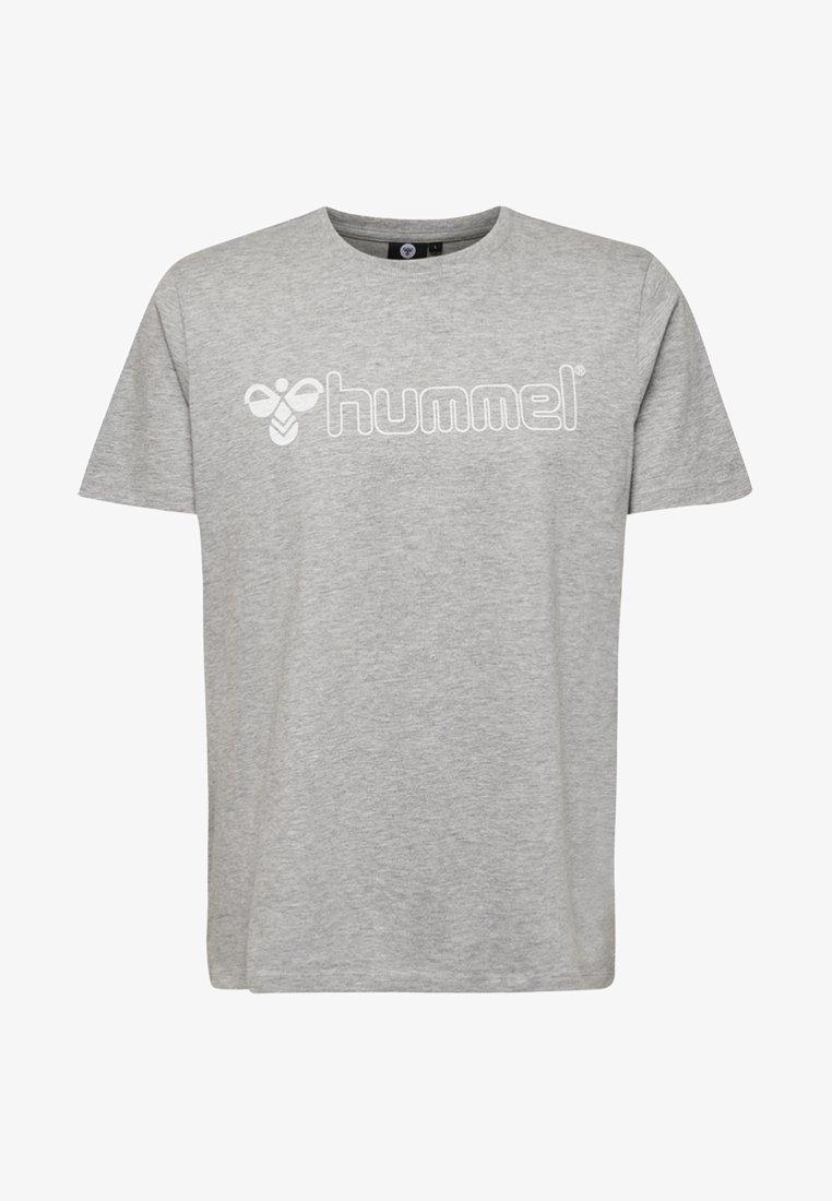 Hummel - HMLLUKE  - T-Shirt print - grey melange