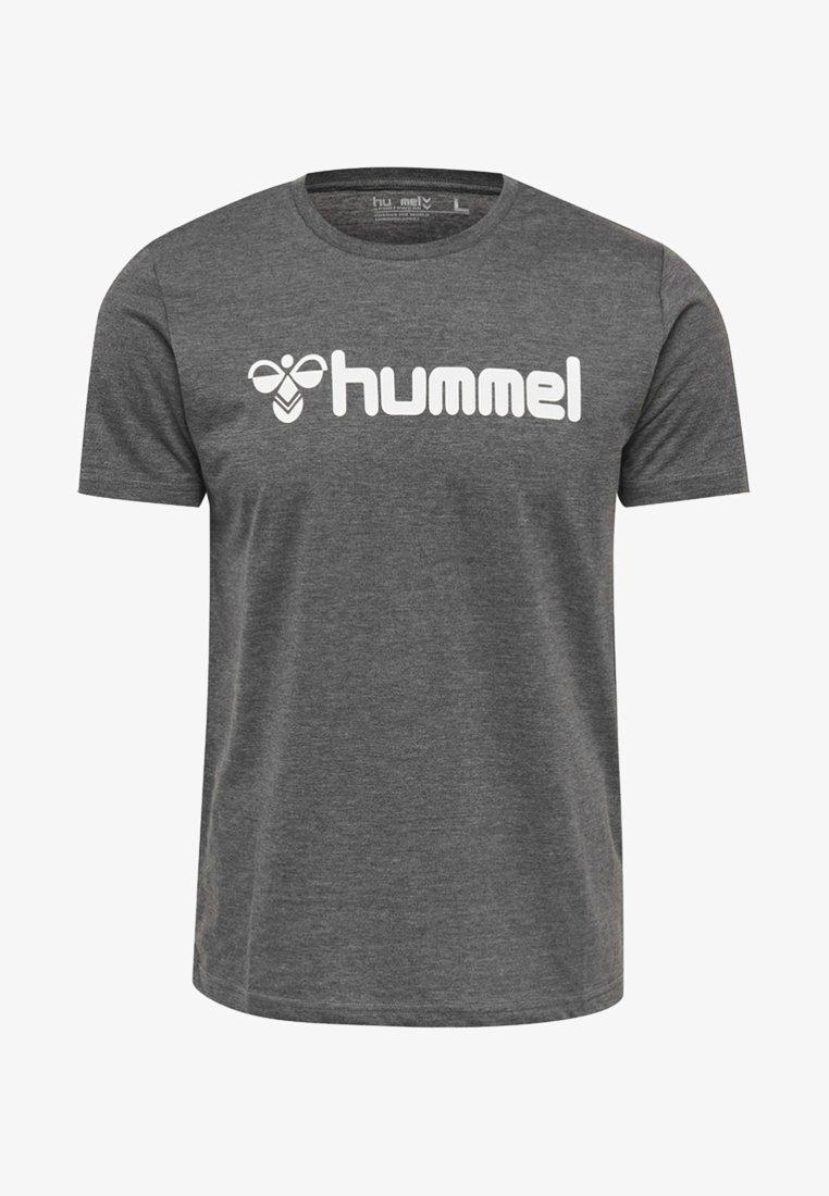 Hummel - Print T-shirt - mottled grey