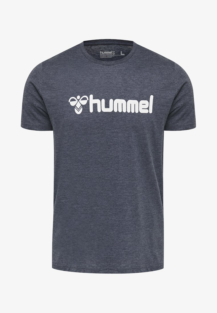 Hummel - HMLSHANK  - T-shirts print - real navy