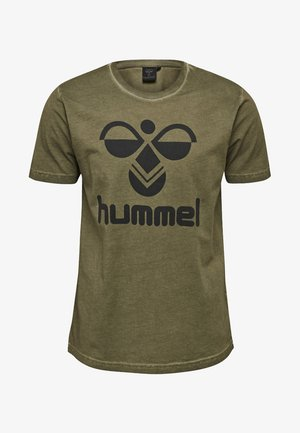 T-shirt z nadrukiem - alendo/navy