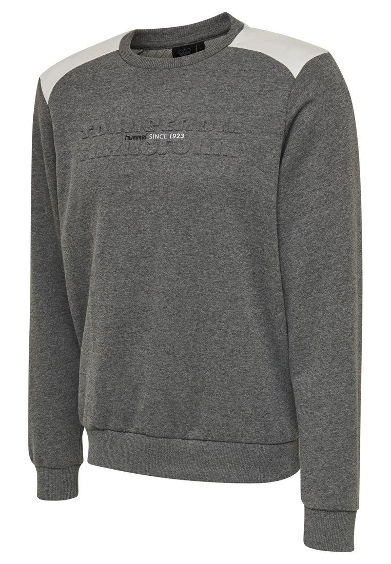 Hummel Hmlkayson - Sweatshirt Mottled Grey