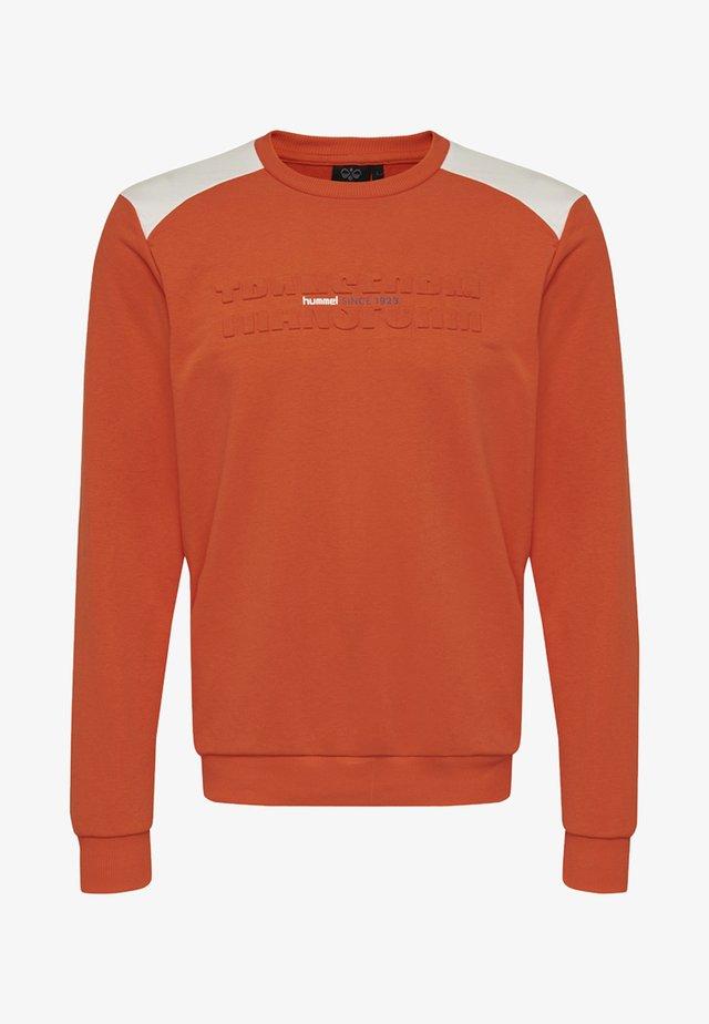 HMLKAYSON  - Sweatshirts - orange