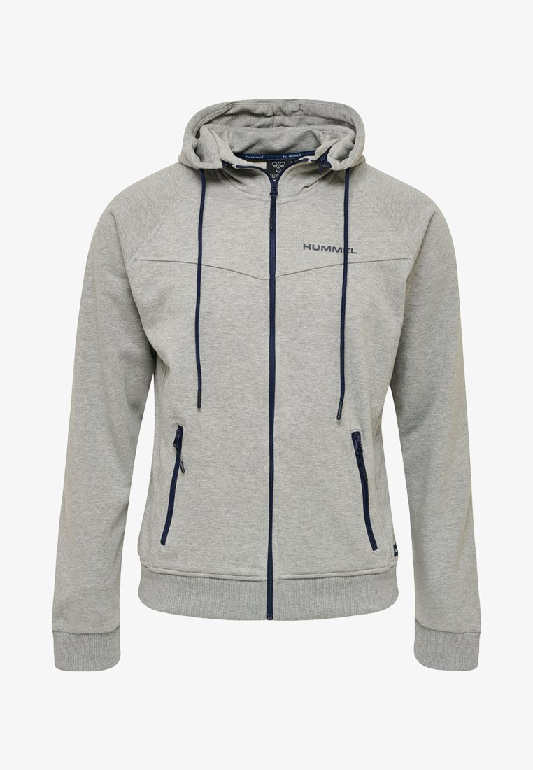 Hummel - HMLATHAN  - Zip-up hoodie - grey