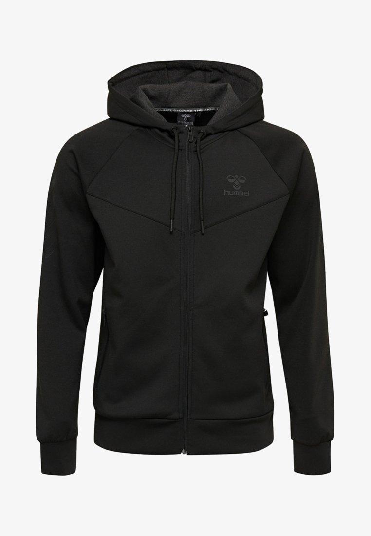Hummel - HMLCANGO  - Zip-up hoodie - black