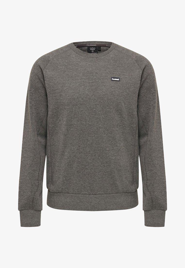 Hummel - HUMMEL HMLWERREN COTTON SWEATSHIRT - Sweatshirt - medium melange