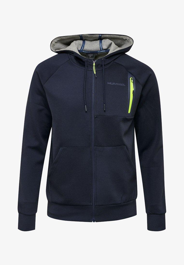 Hummel - Zip-up hoodie - real navy