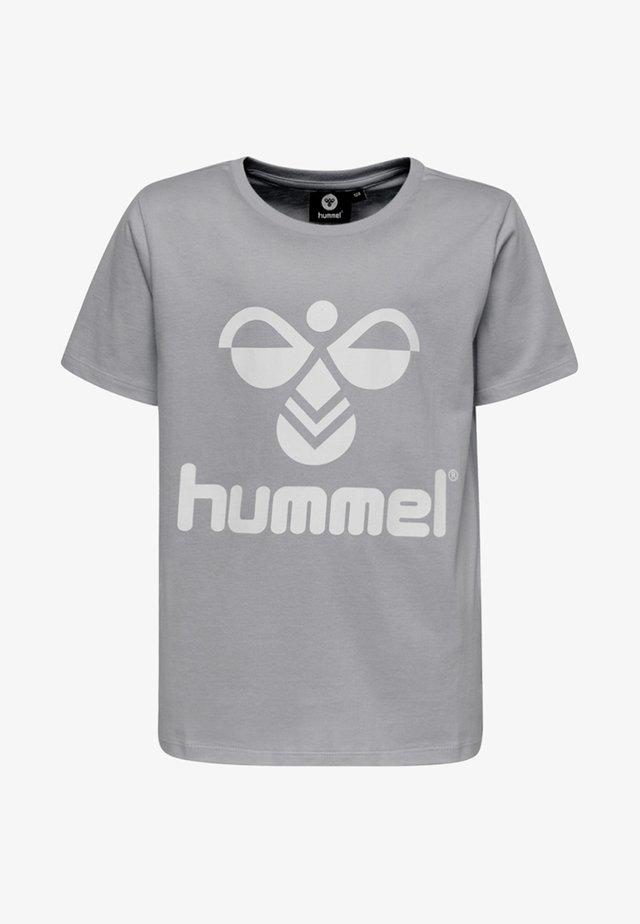 HMLLTRES - T-shirts print - grey melange