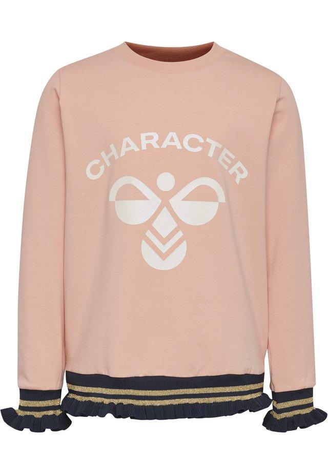 HMLBETTE - Sweatshirts - coral pink