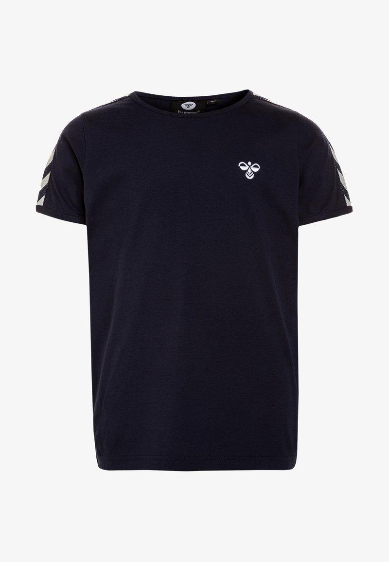 Hummel - HMLERIK  - T-Shirt print - black iris