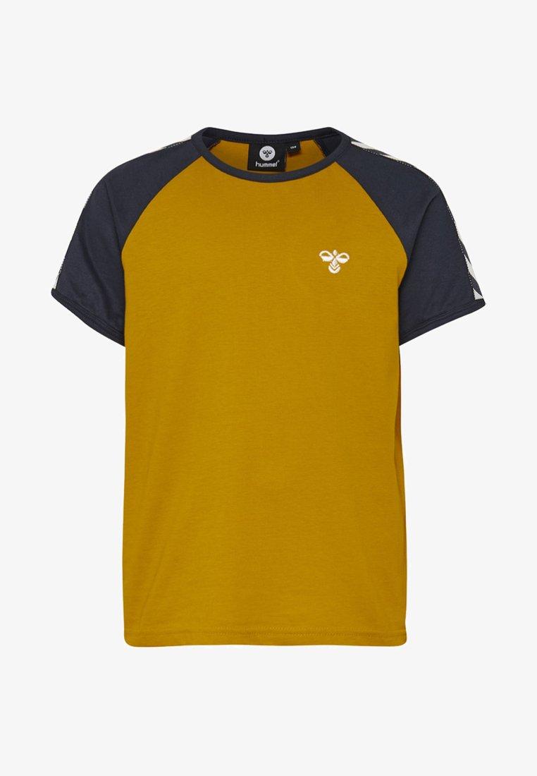 Hummel - SVEND - T-Shirt print - golden yellow