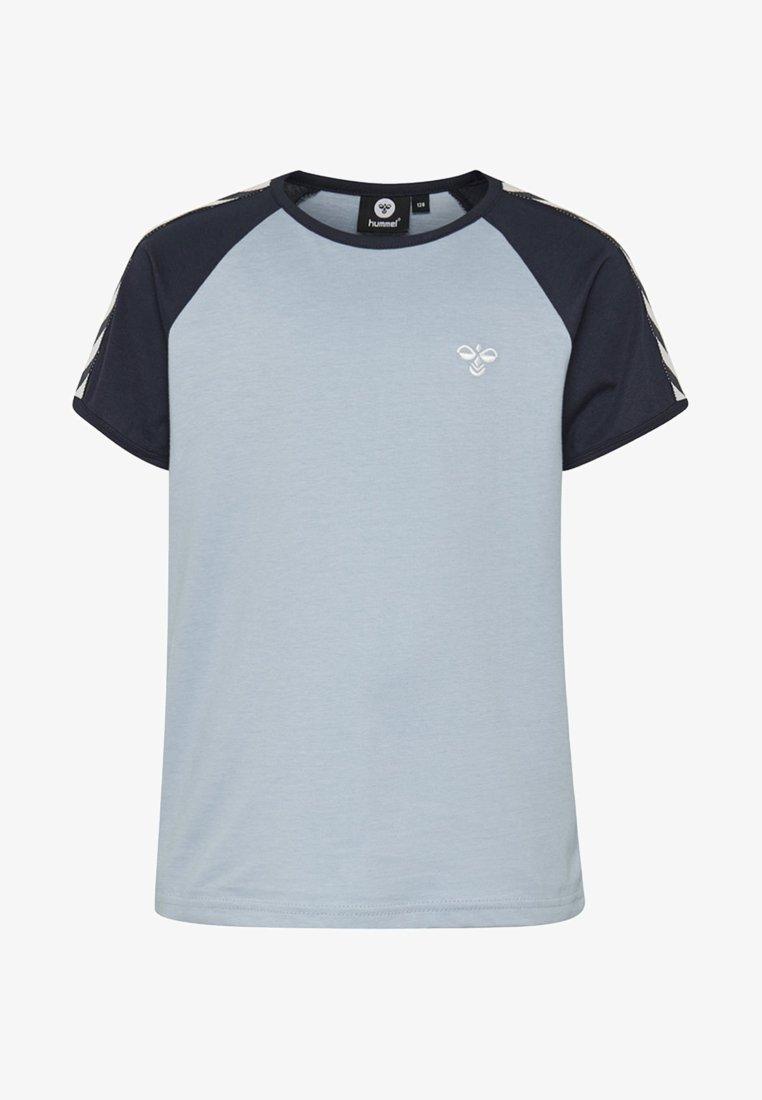 Hummel - SVEND - T-shirts print - ashley blue