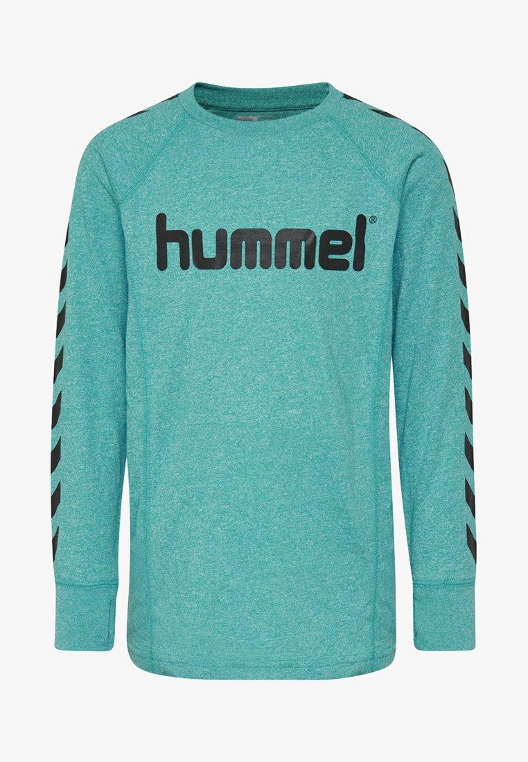 Hummel - POTTER - Langærmede T-shirts - lake blue