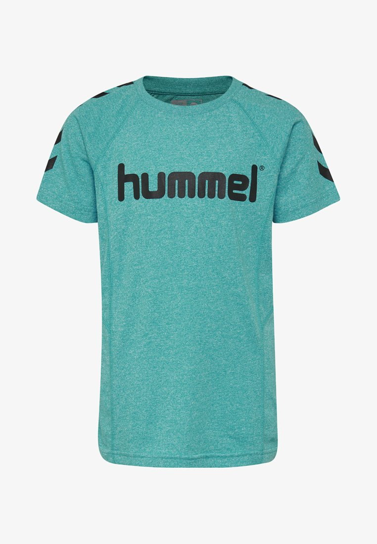 Hummel - PITTER - T-shirts print - lake blue