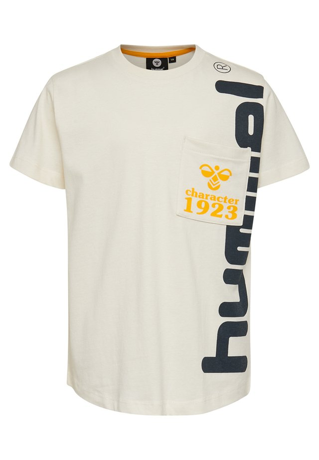 HMLTORBEN  - T-shirts print - whisper white