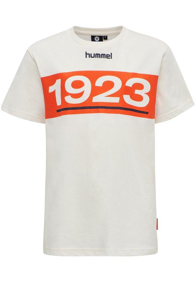 JASPER - T-shirts print - mandarin red