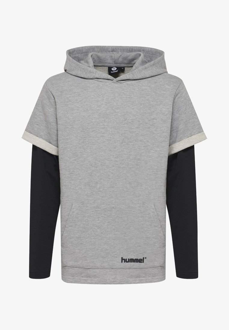 Hummel - Hættetrøjer - mottled grey