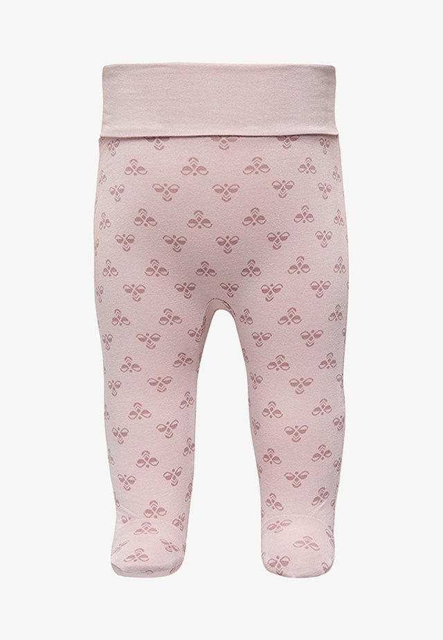 HMLBABY BEE PANTS - Leggings - burnished lilac