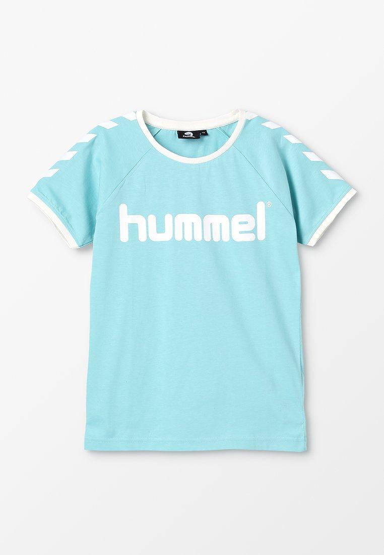 Hummel - T-shirts med print - aqua haze