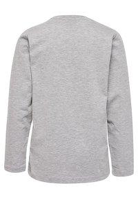 Hummel - HMLHARPER  - Long sleeved top - grey melange - 1