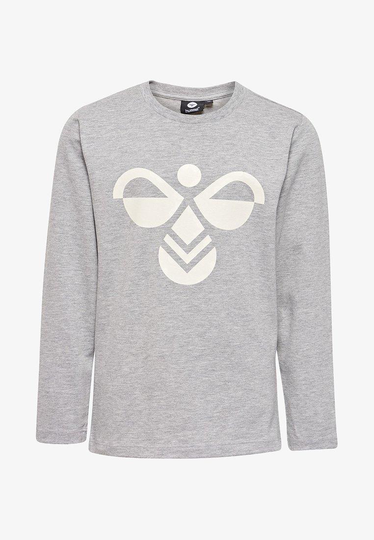 Hummel - HMLHARPER  - Long sleeved top - grey melange