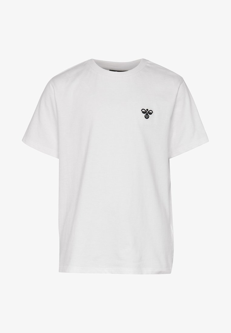 Hummel - HMLUNI - T-shirt basic - whisper white