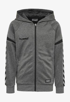 AUTH. CHARGE  - Zip-up hoodie - dark grey melange