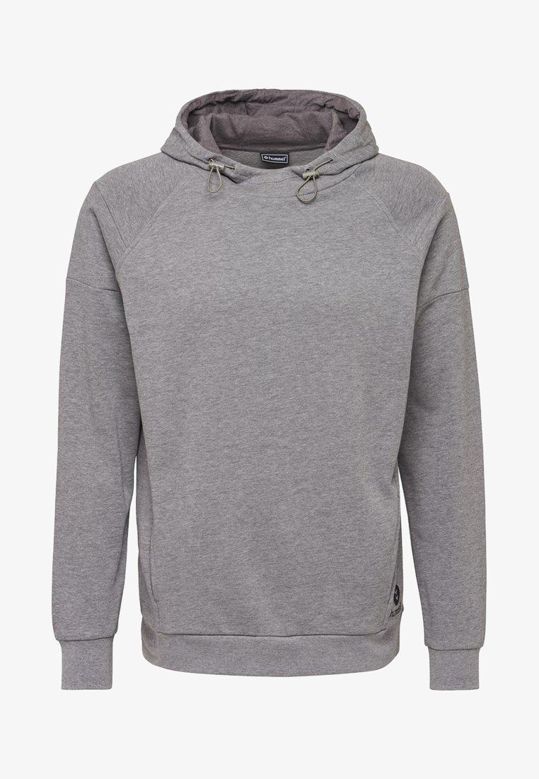 Hummel - Kapuzenpullover - dark grey melange