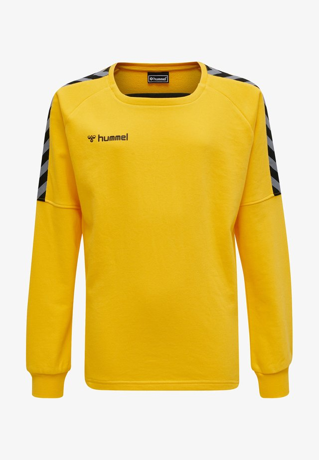 Sweatshirts - sports yellow