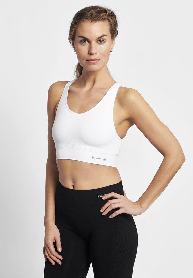 SUE SEAMLESS  - Sports-bh'er - white