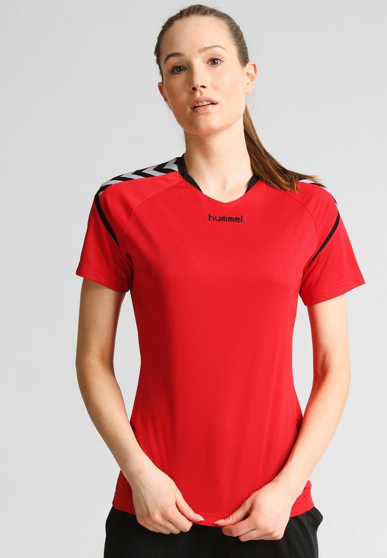 Hummel - AUTHENTIC CHARGE - Camiseta estampada - true red
