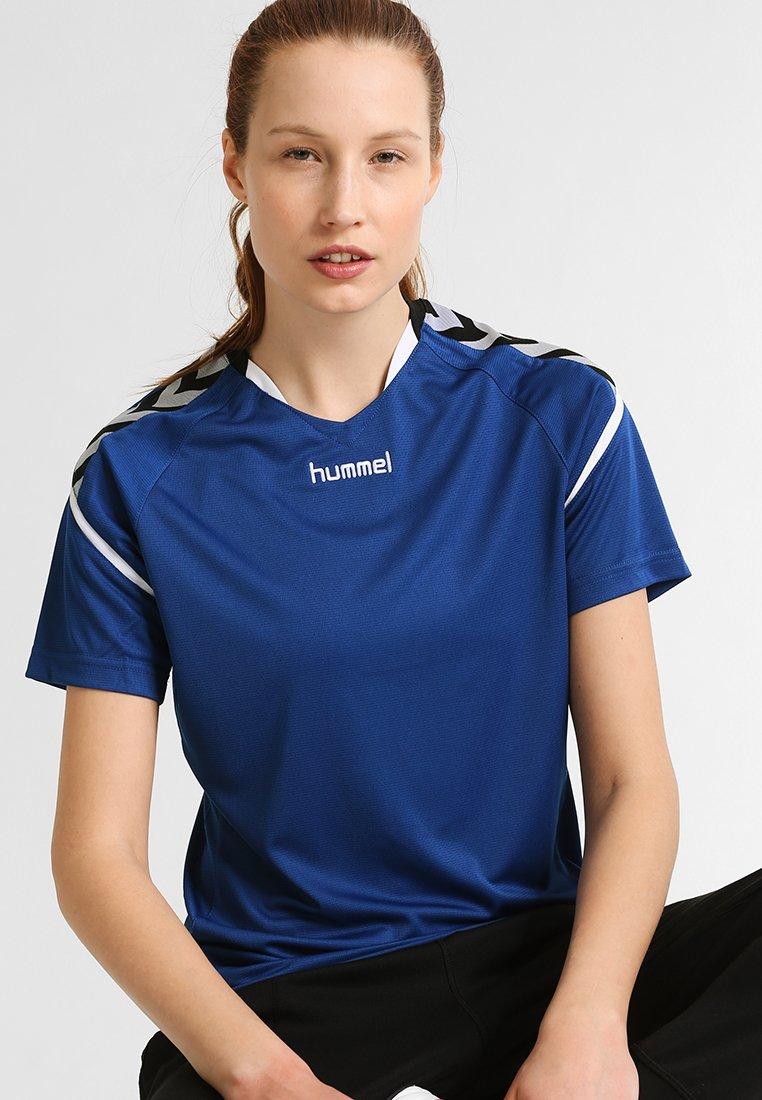 Hummel - AUTHENTIC CHARGE - Camiseta estampada - true blue
