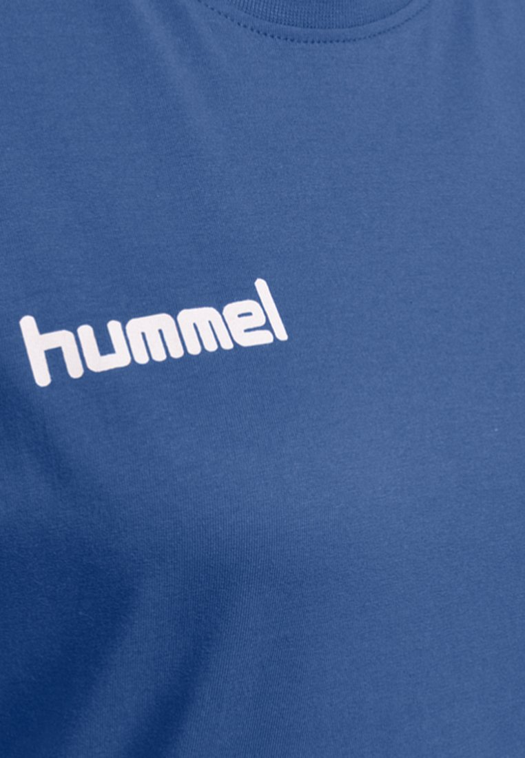 Hummel HMLGO- T-Shirt print true blue