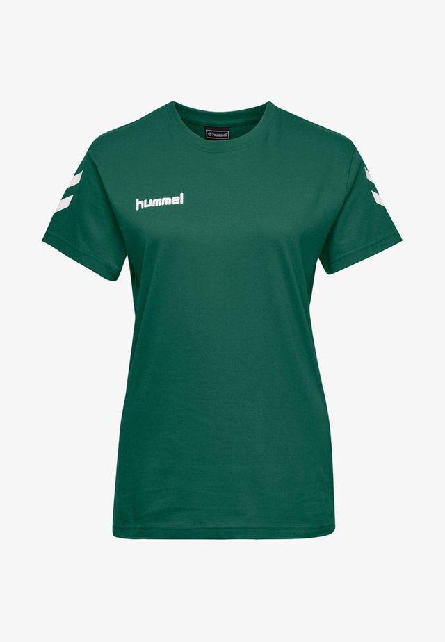 HMLGO  - T-shirts print - evergreen
