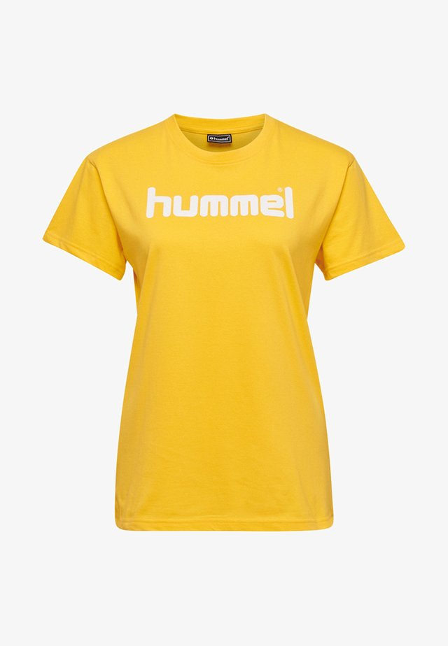 HMLGO  - T-shirts print - sports yellow