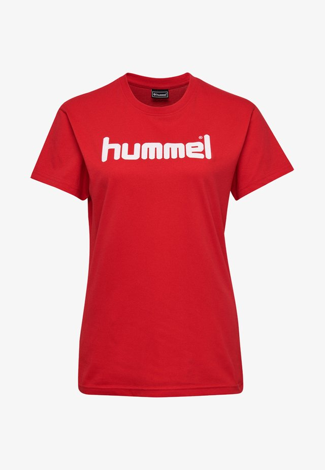 HMLGO  - T-shirts print - true red