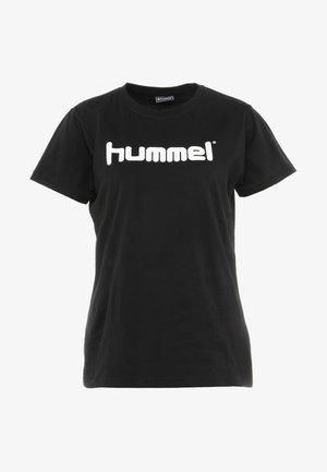 HMLGO  - T-shirts med print - black