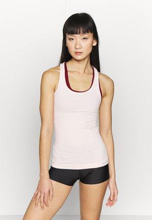 CLASSIC BEE SEAMLESS - Sports shirt - cloud pink melange