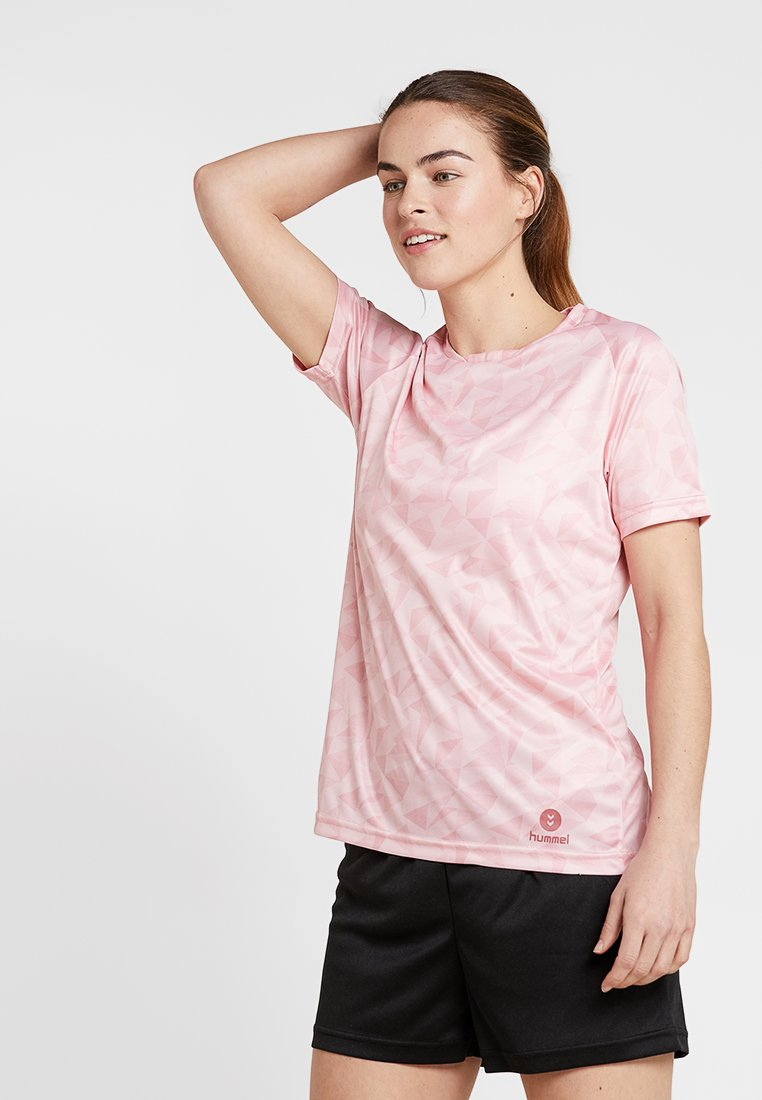Hummel - ACTIVE WOMAN - Camiseta estampada - mellow rose